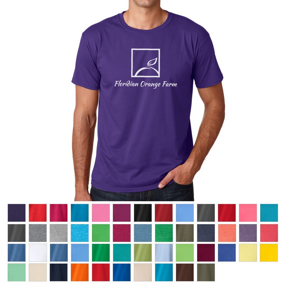 Promotion Gildan® Softstyle® T-Shirt Makes Your Company's Logo Look Fashionable