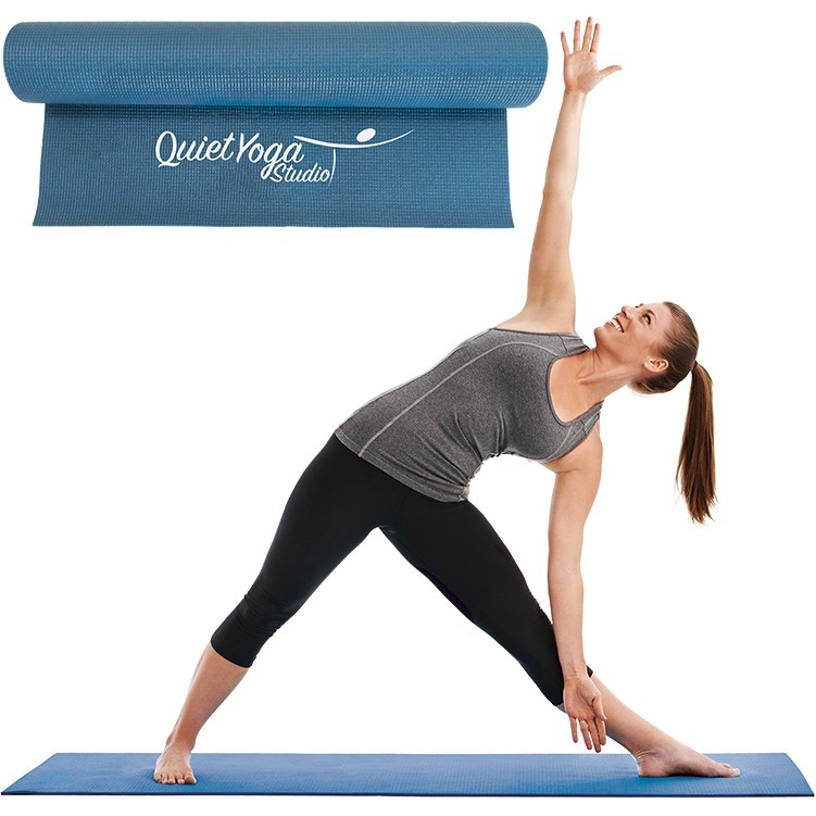 "Keep Your Customers Happy and Active with this Promotional Yoga Mat (24""x 68"")"