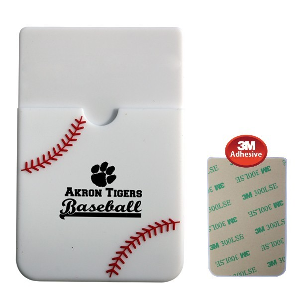 Offer the Ultimate Convenience to Your Customer with this Custom Textured Sport Smart Wallet (Baseball)