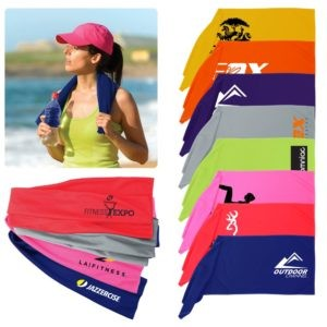 Cooling Towel with Logo