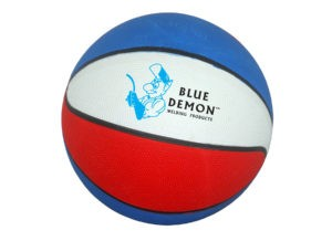 Red, White & Blue Mini Basketball with Logo