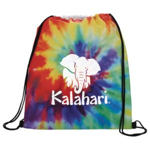 Promotional Tie Dye Drawstring Sports Pack